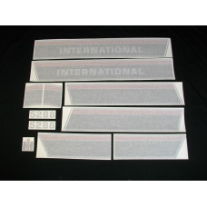 Farmall 5288 (stripes & model number only) Vinyl Cut Decal Set (VI274)