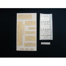 Farmall 560, 660 gas Vinyl Cut Decal Set (VI453)