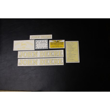 John Deere L styled Mylar Cut Decal Set (JD116 )
